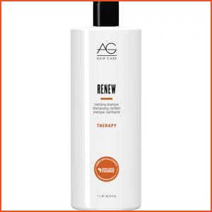 AG Hair Renew Clarifying Shampoo - Liter (Brands > Hair > Sale > Shampoo > AG Hair > View All > Therapy > Sale > Hair > AG Hair Black Friday Sale)