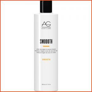 AG Hair Smoooth Sulfate-Free Argan & Coconut Shampoo - 10 Oz (Brands > Hair > Shampoo > AG Hair > View All > Smooth > Summer Essentials)