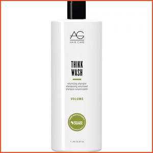 AG Hair Thikk Wash Volumizing Shampoo - Liter