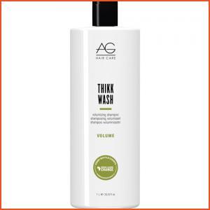 AG Hair Thikk Wash Volumizing Shampoo - Liter (Brands > Hair > Shampoo > AG Hair > View All > Keratin Repair > Volume > Keratin)