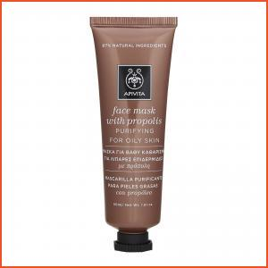APIVITA  Purifying Face Mask For Oily Skin With Propolis 1.78oz, 50ml