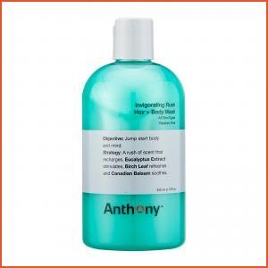 Anthony  Invigorating Rush Hair + Body Wash (For All Skin Types) 12oz, 355ml