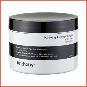 Anthony  Purifying Astringent Pads (For All Skin Types) 60pads,
