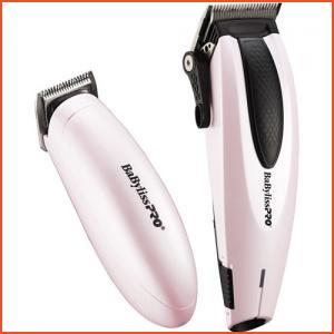 BaByliss Pro Clipper & Trimmer Combo - Pink and Black