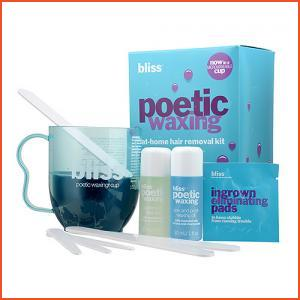 Bliss  Poetic Waxing At-Home Hair Removal Kit 1set,