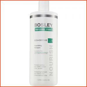 Bosley Professional BosDefense Nourishing Shampoo for Non Color-Treated Hair - 33.8 oz