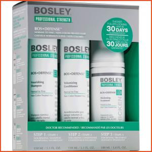Bosley Professional BosDefense Starter Pack for Non Color-Treated Hair