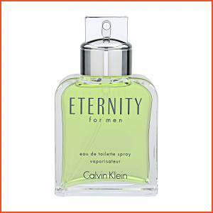 Calvin Klein Eternity For Men  Eau de Toilette Spray  3.4oz, 100ml