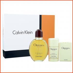 Calvin Klein Obsession For Men  Eau de Toilette 3-Piece Set 1set, 3pcs