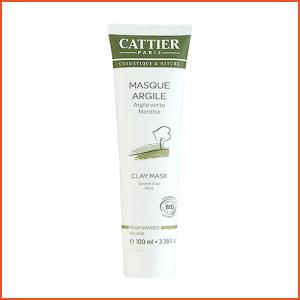Cattier  Green Clay Mint Face Mask (Oily Skin) 3.38oz, 100ml