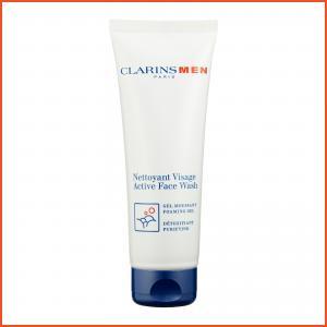 Clarins Men  Active Face Wash (Foaming Gel-Purifying) 4.4oz, 125ml