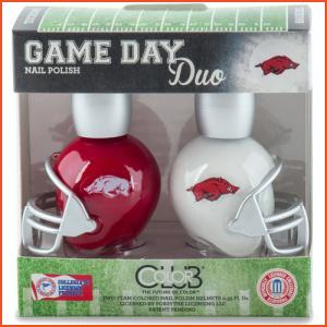 Color Club Game Day Duo - Arkansas (Brands > Nails > Sale > Nail Polish > Nail Kits > Nails > Color Club > View All > Sports)