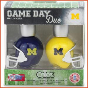Color Club Game Day Duo - Michigan (Brands > Nails > Sale > Nail Polish > Nail Kits > Nails > Color Club > View All > Sports)