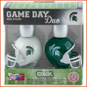 Color Club Game Day Duo - Michigan State (Brands > Nails > Sale > Nail Polish > Nail Kits > Nails > Color Club > View All > Sports)