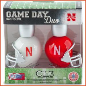 Color Club Game Day Duo - Nebraska (Brands > Nails > Sale > Nail Polish > Nail Kits > Nails > Color Club > View All > Sports)
