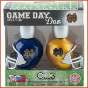 Color Club Game Day Duo - Notre Dame (Brands > Nails > Sale > Nail Polish > Nail Kits > Nails > Color Club > View All > Sports)