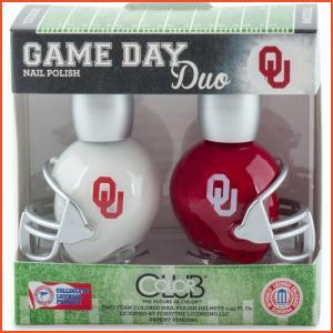 Color Club Game Day Duo - Oklahoma (Brands > Nails > Sale > Nail Polish > Nail Kits > Nails > Color Club > View All > Sports)