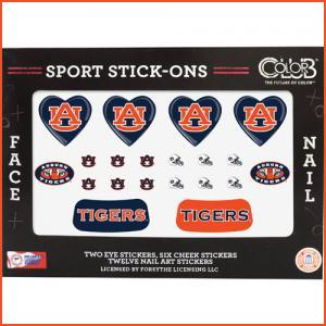 Color Club Sport Stick-Ons - Auburn (Brands > Nails > Sale > Nail Art & Effects > Nails > Color Club > View All > Sports)