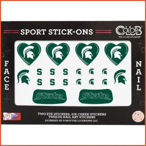 Color Club Sport Stick-Ons - Michigan State (Brands > Nails > Sale > Nail Art & Effects > Nails > Color Club > View All > Sports)