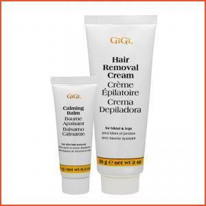 GiGi  Hair Removal Cream For Bikini & Legs 0.5 + 2oz, 14 + 56g