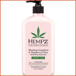 Hempz Blushing Grapefruit & Raspberry Creme Herbal Body Moisturizer - 17 oz