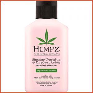 Hempz Blushing Grapefruit & Raspberry Creme Herbal Body Moisturizer - 2.25 oz