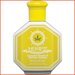 Hempz Coastal Peach & Yellow Dahlia Herbal Body Moisturizer - 2.25 oz