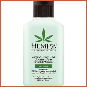 Hempz Exotic Green Tea & Asian Pear Herbal Body Moisturizer - 2.25 oz