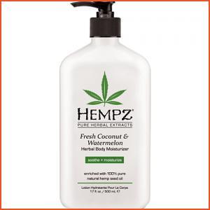 Hempz Fresh Coconut & Watermelon Herbal Body Moisturizer - 17 oz