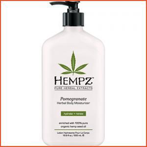 Hempz Pomegranate Herbal Body Moisturizer - 17oz