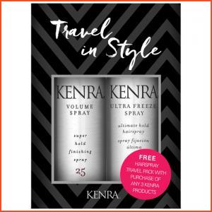 Kenra Professional Hairspray Travel Pack - FREE GIFT WITH PURCHASE (Brands > Hair > Kenra Professional > Hairspray and Styling > Kenra Professional > View All > Hold)