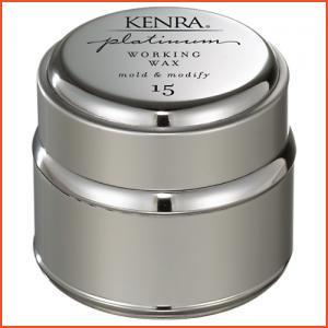 Kenra Professional Platinum Working Wax 15 (Brands > Hair > Import > Kenra Professional > Hairspray and Styling > Kenra Platinum > View All > Kenra Platinum > Select Kenra Professional BOGO 50% OFF > Travel Size > Hair)