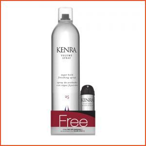 Kenra Professional Volume Spray 25 With Fast Dry Hairspray 8 (Brands > Hair > Kenra Professional > Hairspray and Styling > Kenra Professional > View All > Volume > Category Information > Finishing)
