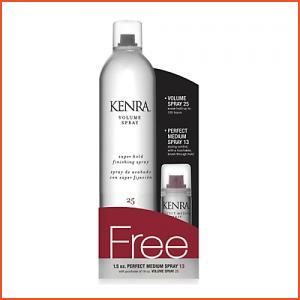 Kenra Professional Volume Spray 25 With Perfect Medium Spray 13 (Brands > Hair > Kenra Professional > Hairspray and Styling > Kenra Professional > View All > Kenra > Category Information > Finishing)