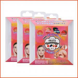 Pure Smile  Fruits Gommage Peeling Gel 3 packs x 20 ml,