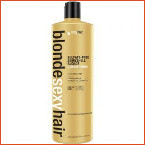 Sexy Hair Blonde Sexy Hair Sulfate-Free Bombshell Blonde Conditioner - 33.8 Oz (Brands > Hair > Conditioner > Sexy Hair > View All > Haircare > Blonde Sexy Hair)