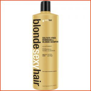 Sexy Hair Blonde Sexy Hair Sulfate-Free Bombshell Blonde Shampoo - 33.8 Oz (Brands > Hair > Conditioner > Sexy Hair > View All > Haircare > Blonde Sexy Hair)