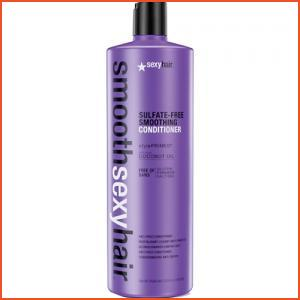 Sexy Hair Smooth Sexy Hair Sulfate-Free Smoothing Conditioner-33.8 Oz. (Brands > Hair > Conditioner > Sexy Hair > View All > Smooth Sexy Hair > Haircare > Conditioner (Sulfate-Free) > Anti-Frizz/Humidity Resistant)