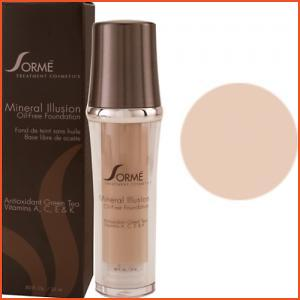 Sorme Mineral Illusion Oil-Free Luminous Foundation - Beige Nude (Brands > Sorme > View All > Makeup > Face > Makeup > Face > Face)