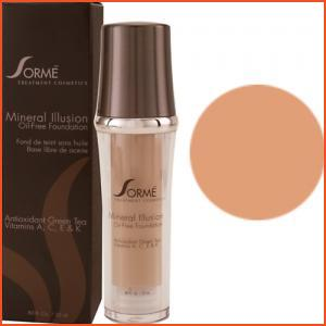 Sorme Mineral Illusion Oil-Free Luminous Foundation - Caramel (Brands > Sorme > View All > Makeup > Face > Makeup > Face > Face)