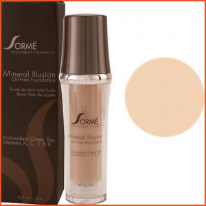 Sorme Mineral Illusion Oil-Free Luminous Foundation - Golden Light (Brands > Sorme > View All > Makeup > Face > Makeup > Face > Face)