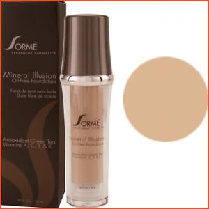 Sorme Mineral Illusion Oil-Free Luminous Foundation - Honey (Brands > Sorme > View All > Makeup > Face > Makeup > Face > Face)