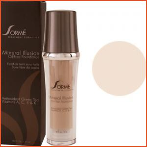 Sorme Mineral Illusion Oil-Free Luminous Foundation - Porcelain (Brands > Sorme > View All > Makeup > Face > Makeup > Face > Face)