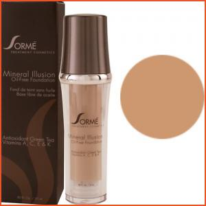 Sorme Mineral Illusion Oil-Free Luminous Foundation - Tawney (Brands > Sorme > View All > Makeup > Face > Makeup > Face > Face)