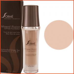 Sorme Mineral Illusion Oil-Free Luminous Foundation - Vanilla Beige (Brands > Sorme > View All > Makeup > Face > Makeup > Face > Face)