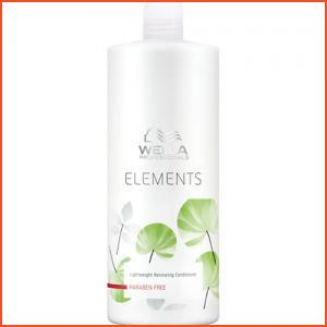 Wella Elements Lightweight Renewing Conditioner - 1 Liter